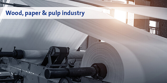 Wood, paper & pulp industry